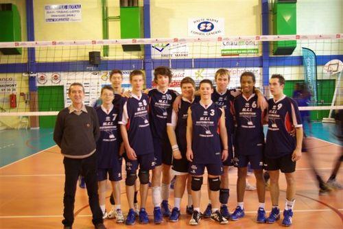 Volley cadets Pfastatt