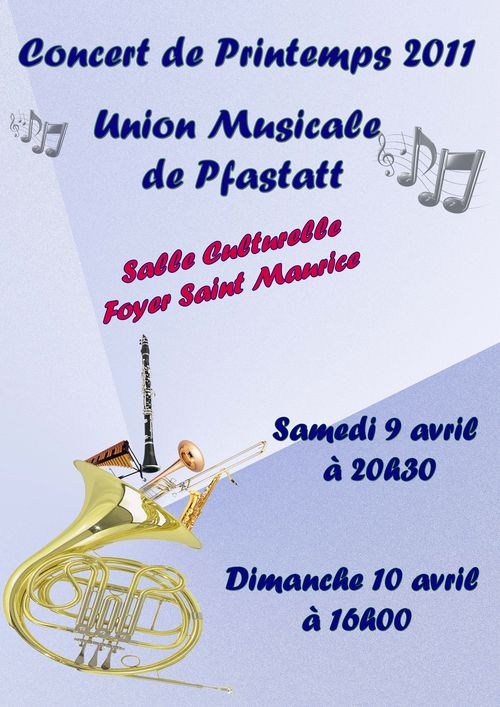 Concert printemps 2011