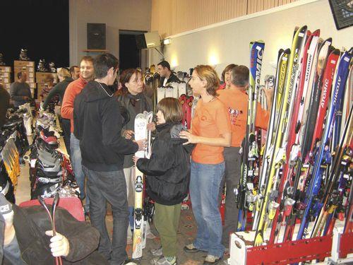 Bourse-skis