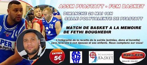 Publicité match Fethi Boughedir