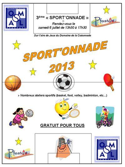 Sportonnade 2013