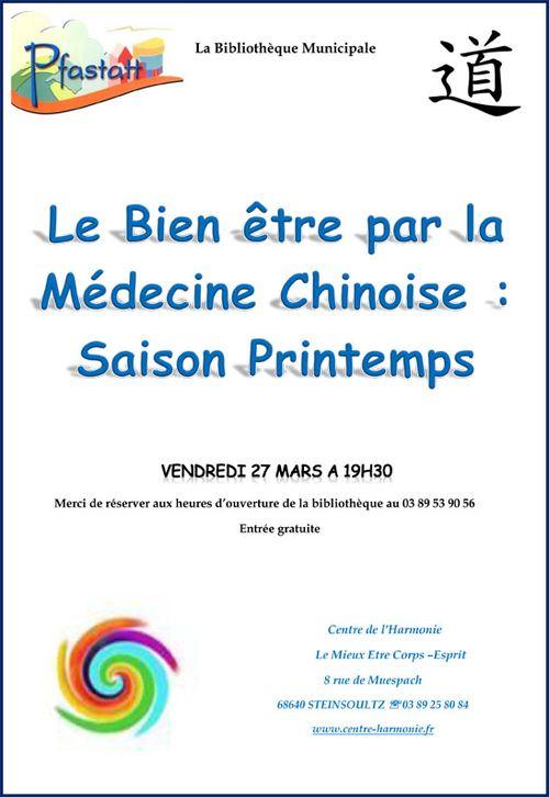 Medecine chinoise printemps