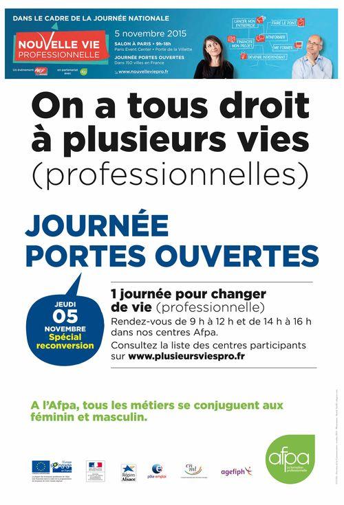 Affiche JPO Alsace - 5 Novembre 2015