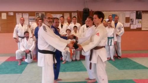 Judo ceinture
