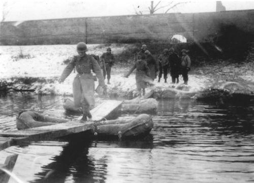 Traversée de la Doller 20 janvier 1945