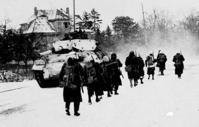Infanterie & chars