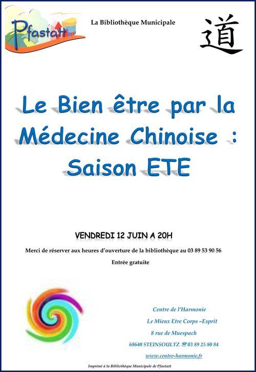 Médecine chinoise été