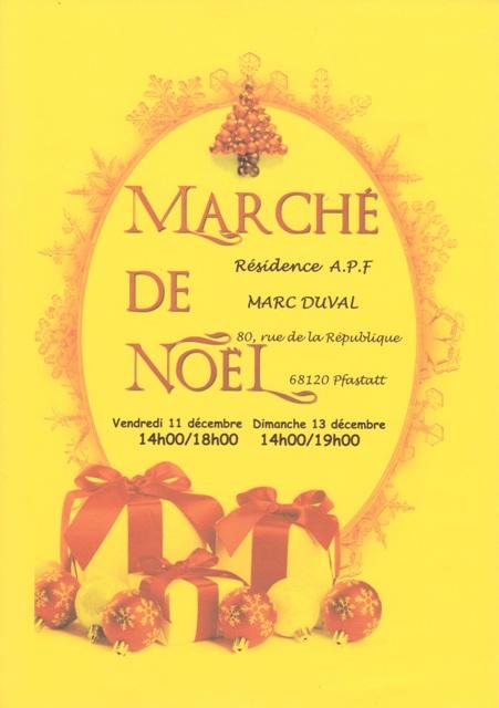 Marché noel Duval