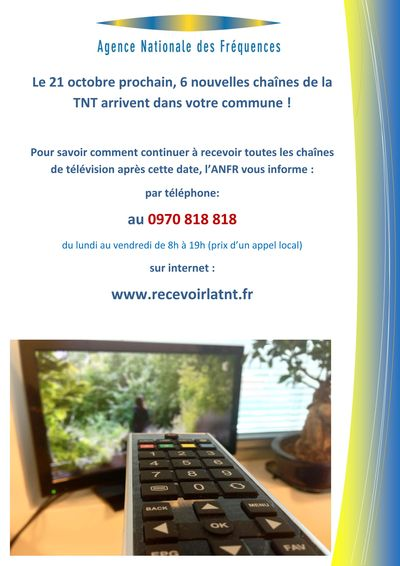 Affiche ANFR