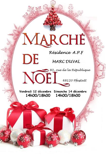 Marché de Noël APF Marc Duval