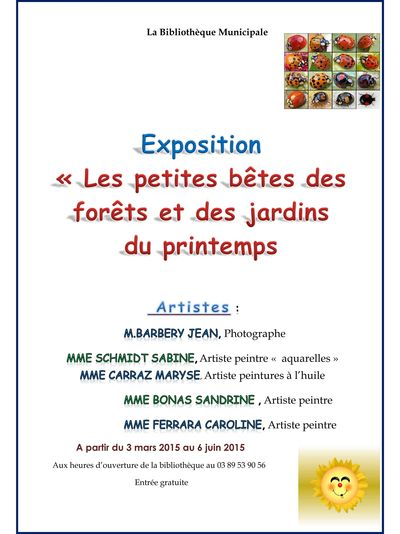 Exposition - petites betes